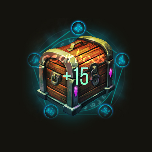 Mythic+15 weekly chest boost