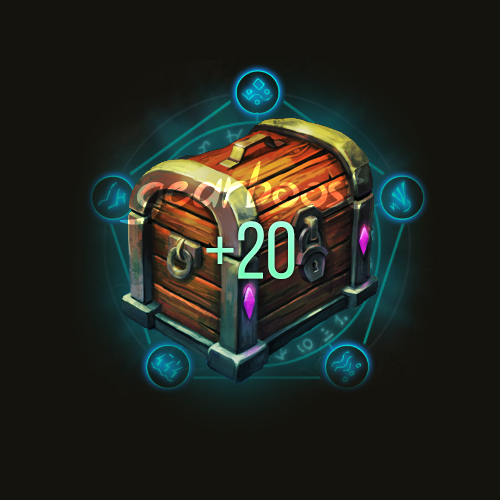Mythic+20 weekly chest boost