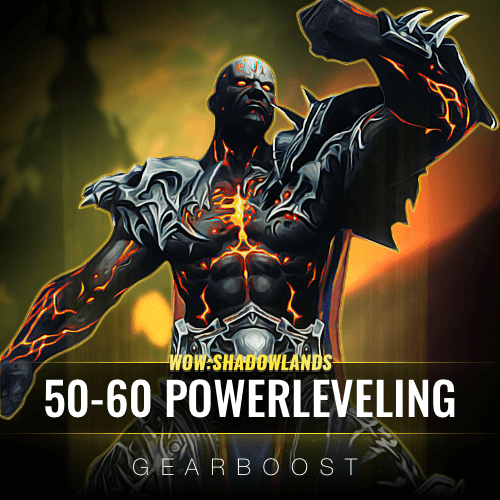 60 Character Leveling Boost WoW: Shadowlands