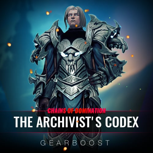 The Archivist's Codex Reputation Farm Boost