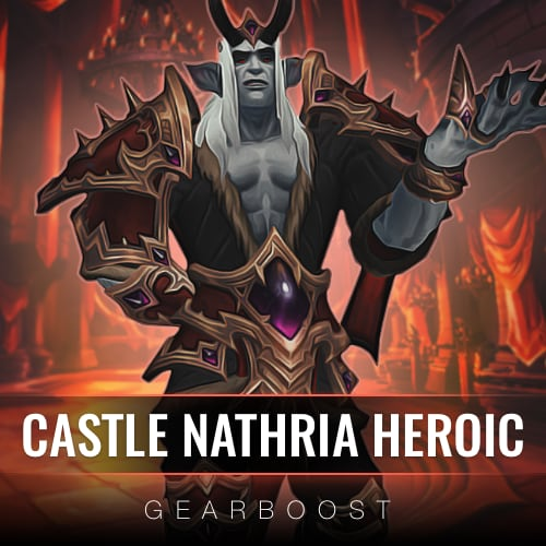 Castle Nathria Heroic Boost +10 items