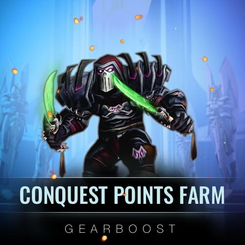 Conquest Points Farm Boost - 550