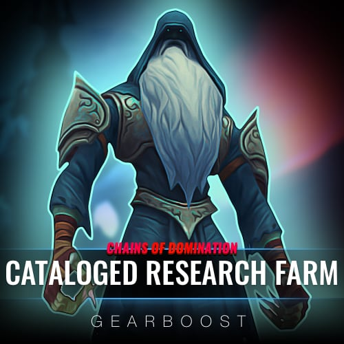 Cataloged Research Farm Boost