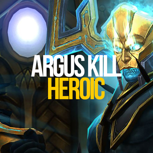 Argus the Unmaker mythic(Personal Loot)