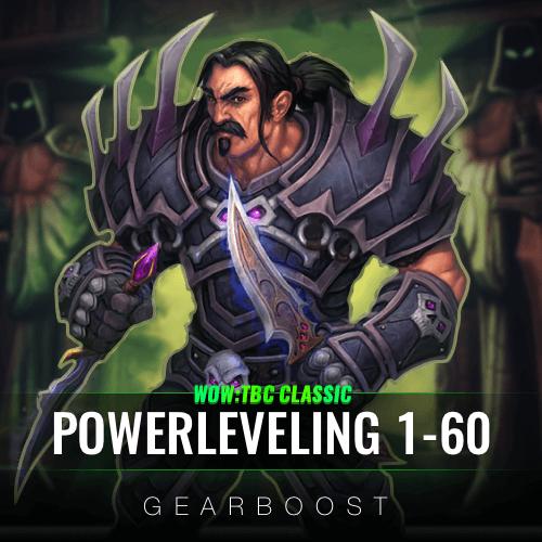 TBC Classic Powerleveling 1 - 60