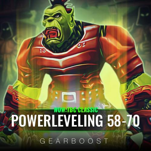 TBC Powerleveling 58 - 70 Level Boost