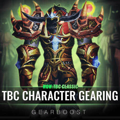 TBC Character Gearing Boost