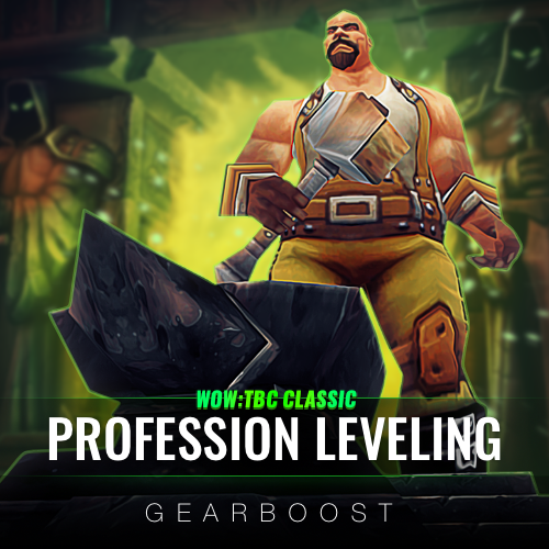 WoW TBC Profession Leveling Boost
