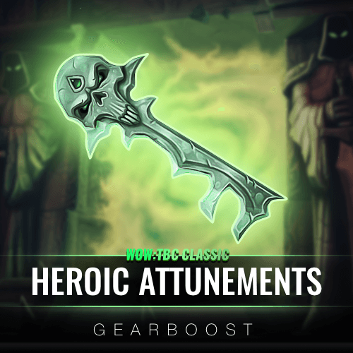 TBC Classic Heroic Dungeon Attunements Boost