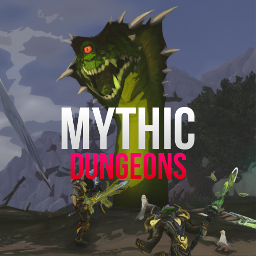 Mythic dungeon completion