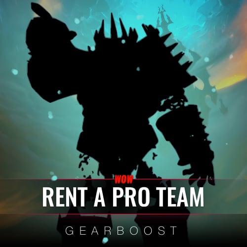 Rent a PRO Mythic+ team