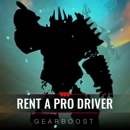 Rent a PRO driver