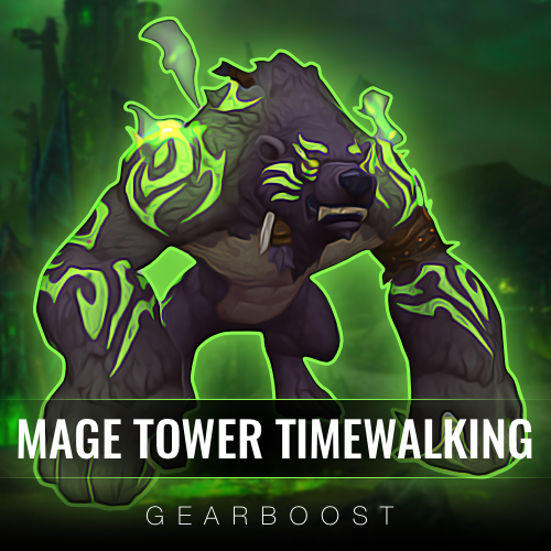 Legion Mage Tower Timewalking