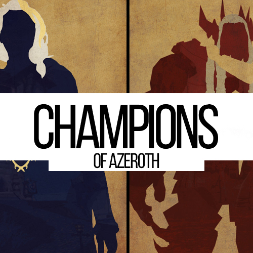Champions of Azeroth Reputation boost