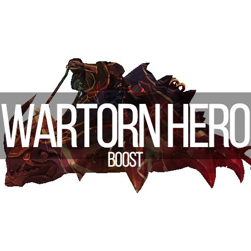 Glory of the Wartorn Hero / Reins of the Obsidian Krolusk